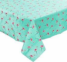 Butlers Waterproof Tischdecke Flamingo 130x160 cm