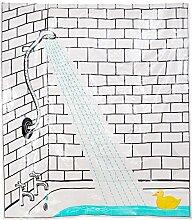 Butlers Wet Wet Wet Duschvorhang Ente