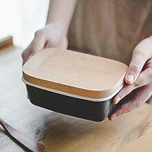Butter Dish Butterdose Japanische Emaille