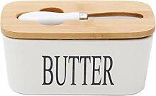 Butterdose aus Porzellan, nordische