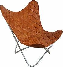 Butterfly Chair Sessel Design Lounge Stuhl Leder