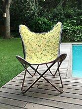 Butterfly Chair Stuhl Schmetterling Handmade with