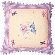 Butterfly Cottage Cushion Cover (Win Green)