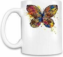 Butterfly Kaffee Becher