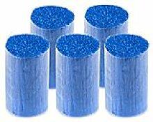 buttinette Acryl-Knüpfgarn, blau, 1.000 Fäden