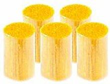 buttinette Acryl-Knüpfgarn, gelb, 1.000 Fäden