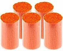 buttinette Acryl-Knüpfgarn, orange, 1.000 Fäden