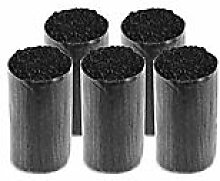 buttinette Acryl-Knüpfgarn, schwarz, 1.000 Fäden