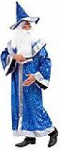 buttinette Zaubermantel, blau/silber