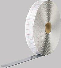 Butylband 10mmx2mm beidseitig selbstklebend 18m Rolle grau