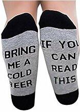 Buweiser 1 Paar Neue Gedruckt Baumwolle Männer Frauen Socken Lustige Neuheit Vintage Retro-Socken