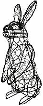 Buxus-Figur Hase stehend Drahtgestell Buchsbaum Former 33cm