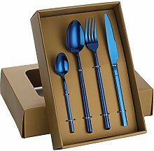 Buyer Star 20-teiliges Besteck-Set, Blau