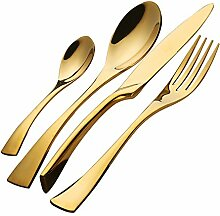 Buyer Star Besteck Gold Besteckset 4 Stück