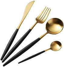 Buyer Star Gold Besteck Edelstahl Golden Messer