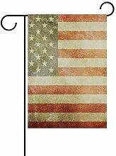 Buyxbn Amerikanische Flagge, Vintage-Dekoration,