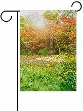 Buyxbn Garten-Flagge, doppelseitig, für drinnen