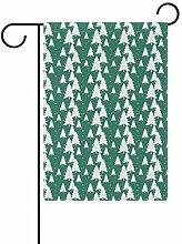 Buyxbn Gartenflagge für Haustiere, doppelseitig,