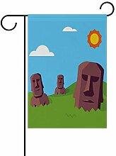 Buyxbn Osterinsel Moai Statue 30,5 x 45,7 cm