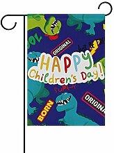 Buyxbn Skateboard mit Gartenflagge für Kinder,