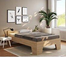 bv-vertrieb Bett, Seniorenbett Holzbett 120x200