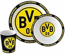 BVB-Bambus-Geschirr-Set (3er Set) one size
