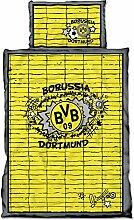 BVB Bettwäsche Graffiti 100x135 + 1x 40x60