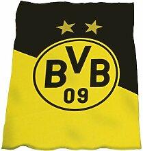 BVB Borussia Dortmund Fleecedecke Coral BVB