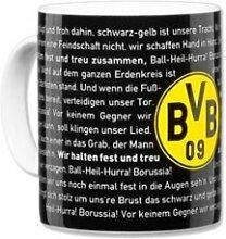 BVB Porzellantasse Hymne