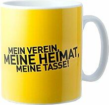 BVB-Tasse Mein Verein - meine Heimat one size