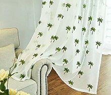 bw0057Landhaus Stil Baumwolle Gewinde Blätter