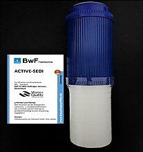 BWF ORIGINAL ACTIVE-SEDI - AKTIVKOHLE + SEDIMENTFILTER Wasserfilter OSMOSE UMKEHROSMOSE WASSERFILTER ANLAGE (30µ)
