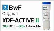 BWF Original KDF ACTIVE II Schwermetallfilter I (20% KDF+ 80% Aktivkohle) Patrone Filterkartusche Wasserfilter, Filter, Wasser, Fische NEU!