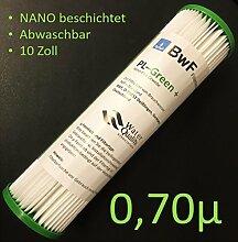 BWF ORIGINAL Neu! NANO (beschichtet) Filter Membran Sediment 0,70µm -besser Auswaschbar- auch für OSMOSE UMKEHROSMOSE WASSERFILTER ANLAGEN SEDIMENTFILTER Polypropylene NANO beschichtet! NEU!