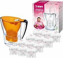 BWT Wasserfilter mit Filterset 6/12, polymere Kunststoffe Modern 12 orange