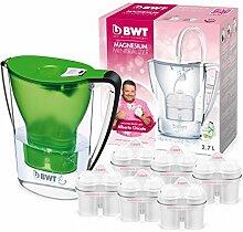 BWT Wasserfilter mit Filterset 6/12, polymere Kunststoffe Modern 6 grün