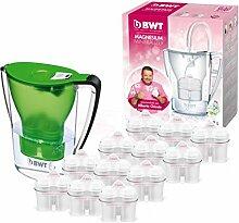 BWT Wasserfilter mit Filterset 6/12, polymere Kunststoffe Modern 12 grün