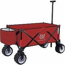 BXL Faltbarer Wagen Gartenkorb Faltwagen Faltbarer