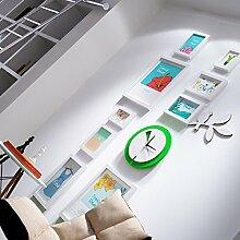 BXR BR Fotowand Bilderrahmen Collage Mode Uhren