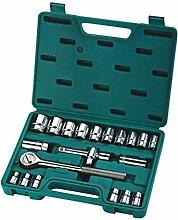 BXU-BG 21 Stück von Ratsche Socket Set Haushalt