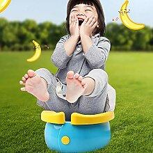 BXYY Kindertoilette - Zusammenklappbar, Tragbar,