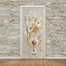 BXZGDJY 3D Bild Poster Wandgemälde Türaufkleber