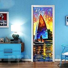 BXZGDJY 3D Hintergrund Aussicht Wandgemälde Foto
