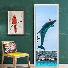 BXZGDJY 3D Wandgemälde Dekoration Aufkleber Foto