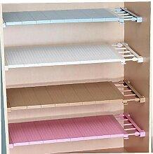 BYFRI 1pc Adjustable Regal Schrank Storage Rack