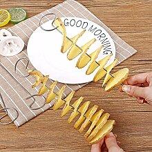 BYFRI Einfache Bedienung Kartoffelspiralschneider