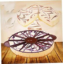 BYFRI Round Kuchen Schneiden Mold Gebäck Slicer