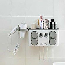 BYFRI Zahnbürstenhalter Automatischer Zahnpasta