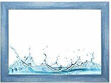 ByMoris-A+ 69.2x96.8 cm Bilderrahmen in Hellblau