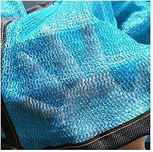 BYNN-ZYB Blue 85% Sunblock Shade Cloth, Größe: